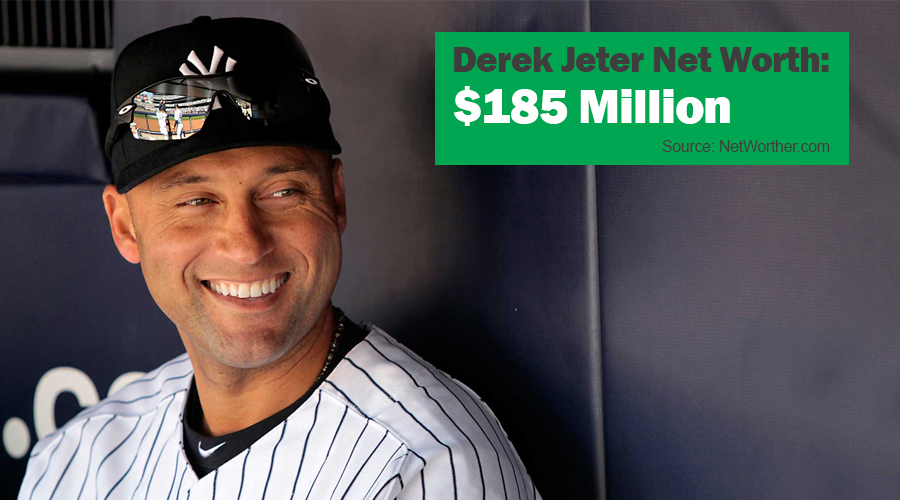 derek jeter net worth 2016