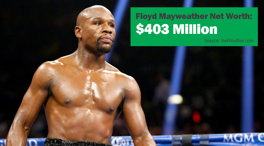 floyd mayweather net worth 2016