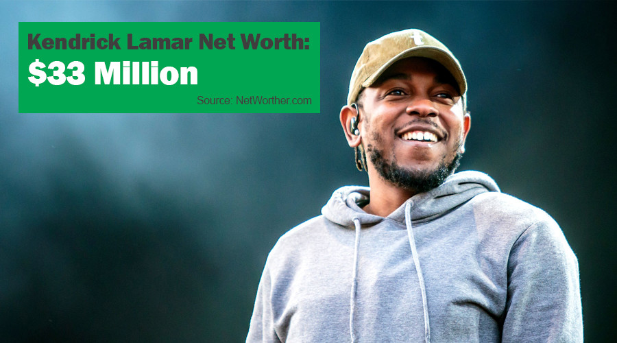 kendrick lamar net worth