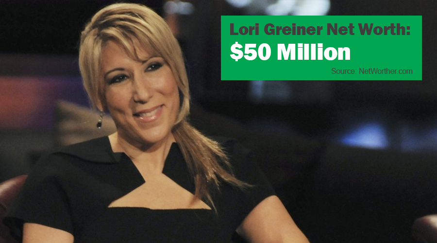 lori greiner net worth 2016