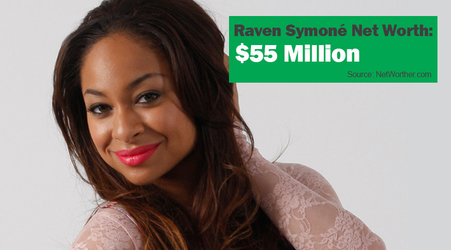 raven symone net worth 55 million