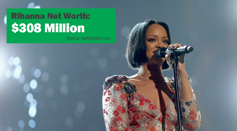 rihanna net worth 2016